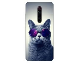 Husa Silicon Soft Upzz Print Xiaomi Redmi 9T Model Cool Cat