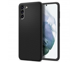 Husa Premium Spigen Liquid Air Pentru Samsung Galaxy S21, Silicon, Negru