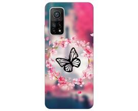 Husa Silicon Soft Upzz Print Xiaomi Mi 10T / Mi 10T Pro Model Butterfly