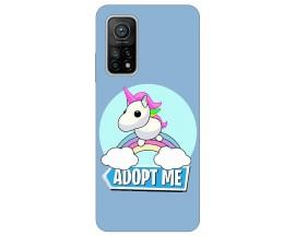 Husa Silicon Soft Upzz Print Xiaomi Mi 10T / Mi 10T Pro Model Pink Unicorn