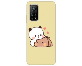 Husa Silicon Soft Upzz Print Xiaomi Mi 10T / Mi 10T Pro Model Teddy