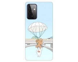 Husa Silicon Soft Upzz Print Compatibila Cu Samsung Galaxy A72 5g Model Three Bears