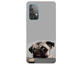 Husa Silicon Soft Upzz Print Samsung Galaxy A52 5G Model Dog