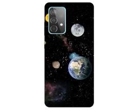 Husa Silicon Soft Upzz Print Compatibila Cu Samsung Galaxy A52 5g Model Earth