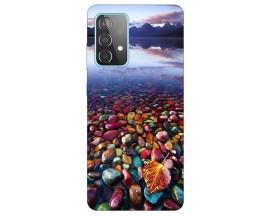 Husa Silicon Soft Upzz Print Compatibila Cu Samsung Galaxy A52 5g Model Leaf