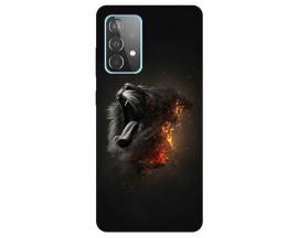 Husa Silicon Soft Upzz Print Compatibila Cu Samsung Galaxy A52 5g Model Lion