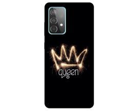 Husa Silicon Soft Upzz Print Compatibila Cu Samsung Galaxy A52 5g Model Queen