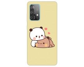 Husa Silicon Soft Upzz Print Compatibila Cu Samsung Galaxy A52 5g Model Teddy