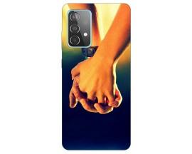 Husa Silicon Soft Upzz Print Compatibila Cu Samsung Galaxy A52 5g Model Together