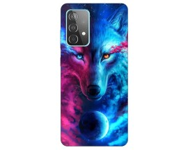 Husa Silicon Soft Upzz Print Compatibila Cu Samsung Galaxy A52 5g Model Wolf