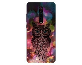 Husa Silicon Soft Upzz Print Xiaomi Redmi 9T Model Sparkle Owl