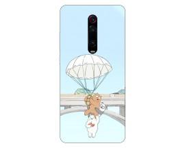 Husa Silicon Soft Upzz Print Xiaomi Redmi 9T Model Three Bears
