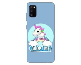 Husa Silicon Soft Upzz Print Compatibila Cu Samsung Galaxy A02s Model Pink Unicorn