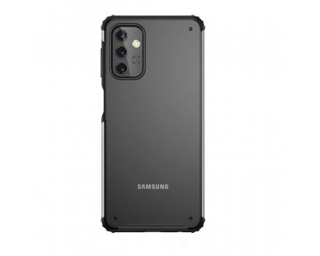 Husa Spate Upzz Hybridshell Compatibila Cu Samsung Galaxy A32 5G, Frosted Negru