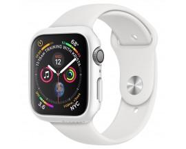 Husa Protectie Ceas Spigen Thin Fit Compatibila Cu Apple Watch 4 / 5 / 6 / SE ( 44mm ), Alb