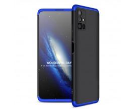 Husa Upzz Protection Compatibila Cu Samsung Galaxy M51 - Negru Albastru