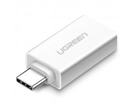Adaptor OTG Ugreen Usb 3.2 ( female ) - Type-C ( male ) , Alb