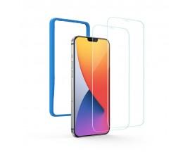 Folie Sticla Securizata Premium Ugreen Compatibila Cu iPhone 12 Mini, Transparenta, Case Friendly - 2 Bucati