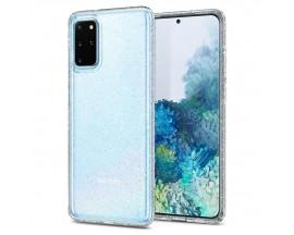 Husa Premium Originala Spigen Liquid Crystal Glitter Samsung Galaxy S20+ Plus Silicon Transparenta Glitter