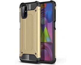 Husa Spate Upzz Armor Compatibila Cu Samsung Galaxy M51, Anti-Shock, Gold