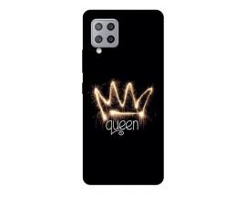 Husa Silicon Soft Upzz Print Compatibila Cu Samsung Galaxy A12 Model Queen