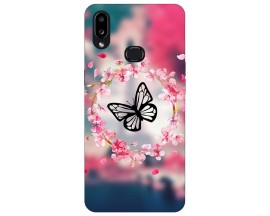 Husa Silicon Soft Upzz Print Compatibila Cu Samsung Galaxy A10s Model Butterfly