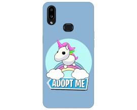 Husa Silicon Soft Upzz Print Compatibila Cu Samsung Galaxy A10s Model Pink Unicorn