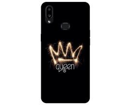 Husa Silicon Soft Upzz Print Compatibila Cu Samsung Galaxy A10s Model Queen