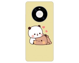 Husa Silicon Soft Upzz Print Compatibila Cu  Huawei Mate 40 Pro Model Teddy