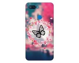 Husa Silicon Soft Upzz Print Compatibila Cu Oppo A12 Model Butterfly