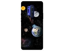 Husa Silicon Soft Upzz Print Compatibila Cu OnePlus 8 Pro Model Earth