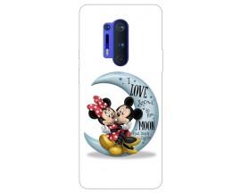 Husa Silicon Soft Upzz Print Compatibila Cu OnePlus 8 Pro Model Moon 2