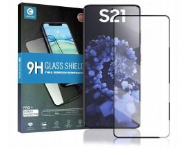 Folie Sticla Securizata Mocolo TG Glass Compatibila Cu Samsung Galaxy S21, Negru