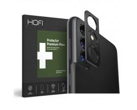 Protectie Camera Alminiu Hofi Pentru Samsung Galaxy S21+ Plus, Negru
