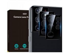 Folie Sticla Nano Glass Esr Camera Pentru Samsung Galaxy S21 Ultra, 2 Bucati In Pachet