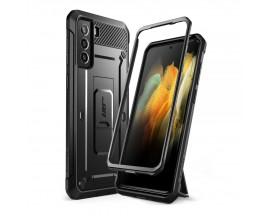 Husa Premium Supcase Unicorn Compatibila Cu Samsung Galaxy S21, Negru