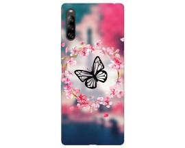 Husa Silicon Soft Upzz Print Compatibila Cu Sony Xperia L4 Model Butterfly