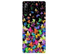 Husa Silicon Soft Upzz Print Compatibila Cu Sony Xperia L4 Model Colorature