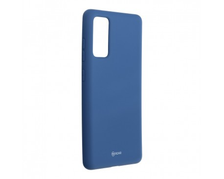 Husa Spate Silicon Roar Jelly Samsung Galaxy S20 Fe - Albastru Navy