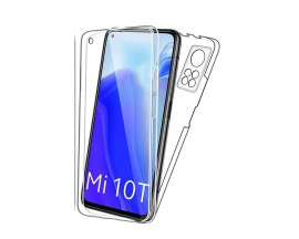 Husa 360 Grade Full Cover Upzz Case Pentru Xiaomi Mi 10T / Mi 10T Pro, Transparenta