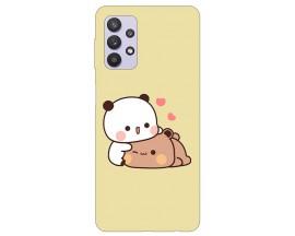 Husa Silicon Soft Upzz Print Compatibila Cu Samsung Galaxy A32 5G Model Teddy