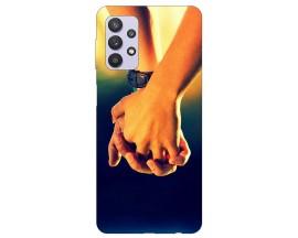 Husa Silicon Soft Upzz Print Compatibila Cu Samsung Galaxy A32 5G Model Together