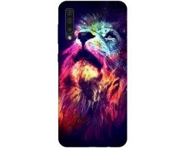 Husa Silicon Soft Upzz Print Compatibila Cu Samsung Galaxy A50 Model Neon Lion
