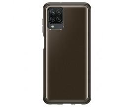 Husa Premium Originala Samsung Compatibila Cu Samsung Galaxy A12, Negru - Ef-qa125tbegeu
