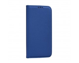 Husa Flip Carte Upzz Smart Compatibila Cu Samsung Galaxy A12, Albastru