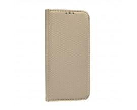 Husa Flip Carte Upzz Smart Compatibila Cu Samsung Galaxy A12, Gold