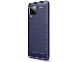 Husa Spate Upzz Carbon Pro Samsung Galaxy A42 5g, Albastru
