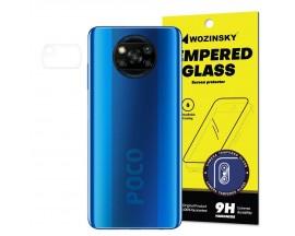 Folie Nano Glass Pentru Camera Wozinsky Pentru SXiaomi Poco X3 Nfc, Transparenta