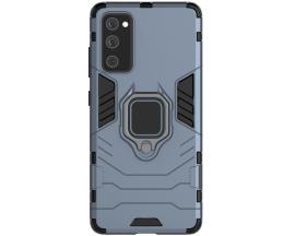 Husa Spate Ring Armor Upzz Samsung Galaxy S20 Fe, Albastru