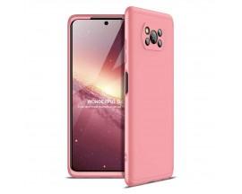 Husa 360 Grade Upzz Protection Pentru Xiaomi Poco X3 Nfc  Roz